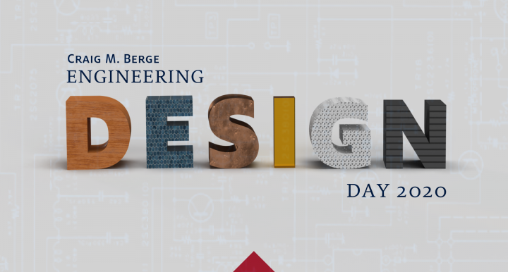 Logo for Craig M Berge Engineering Design Day 2020